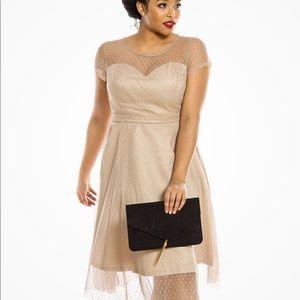"Brand new LindyBop ""Leona"" 50s Dress in Almond"